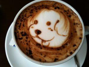 Latte Art, koer, Pilt Pixabay