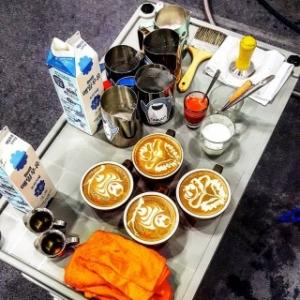 Latte Art. Pilt Instagram @barista_jaws