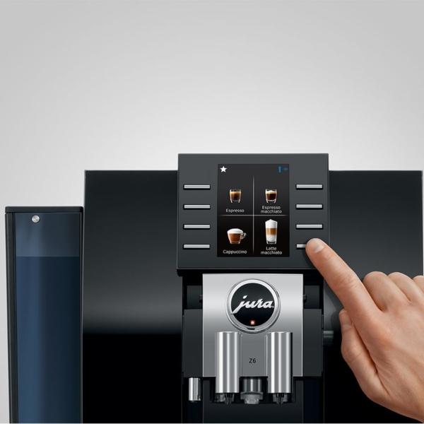JURA Z6 Espressomasina ekraan