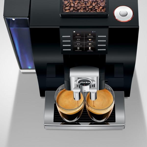 JURA Z6 Espressomasina pealtvaade