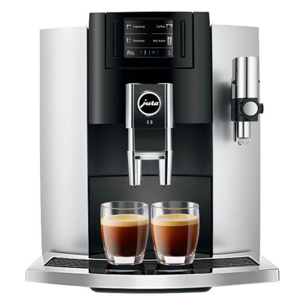 JURA E8 Platinum espressomasin