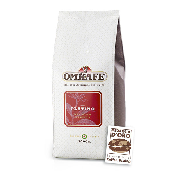 Omkafe Platino kohvioad