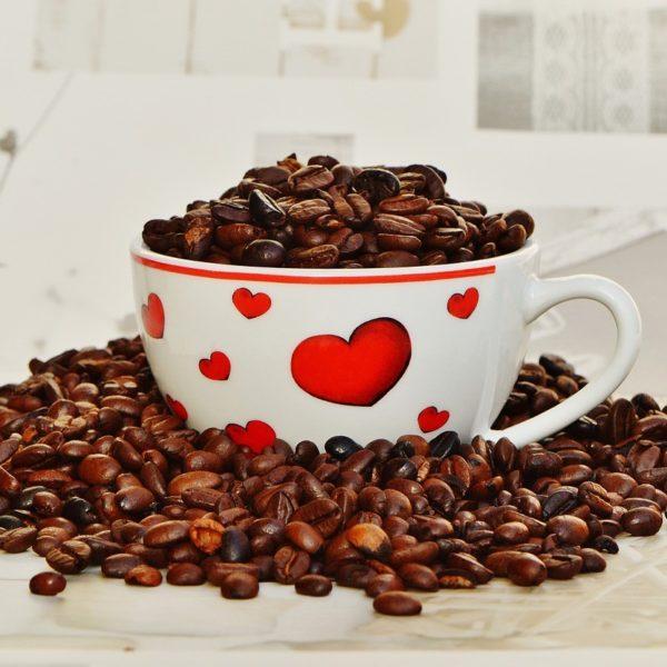 kohvioad kohvitassis