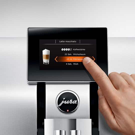 Jura impressa Z8 kohvimasina ekraan