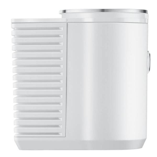 Jura Cool Control piimajahuti valge külgvaade