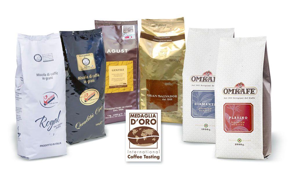 Kohviubade valik