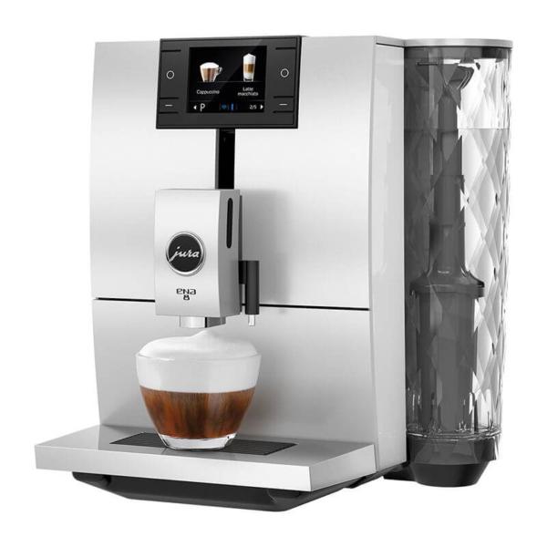 Jura Ena 8 valge espressomasin