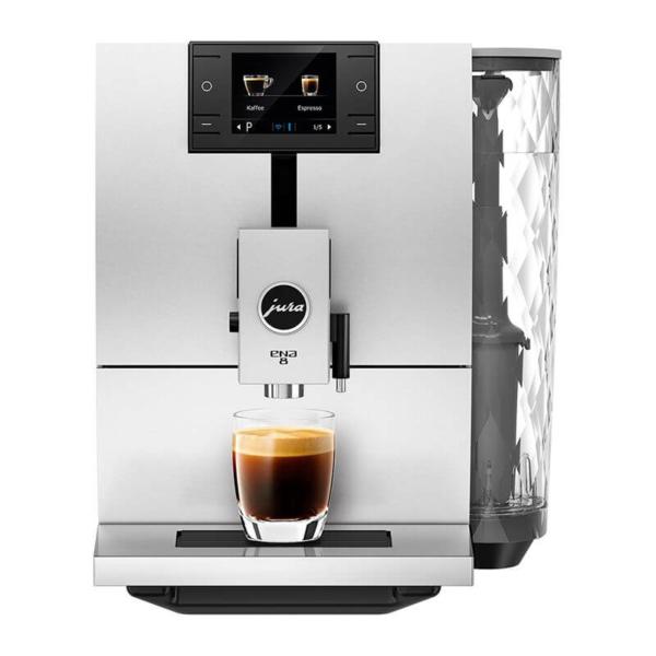 Jura Ena 8 valge kohvimasin