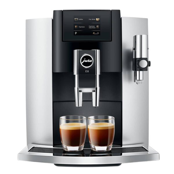 JURA E8 Platin touch espressomasin