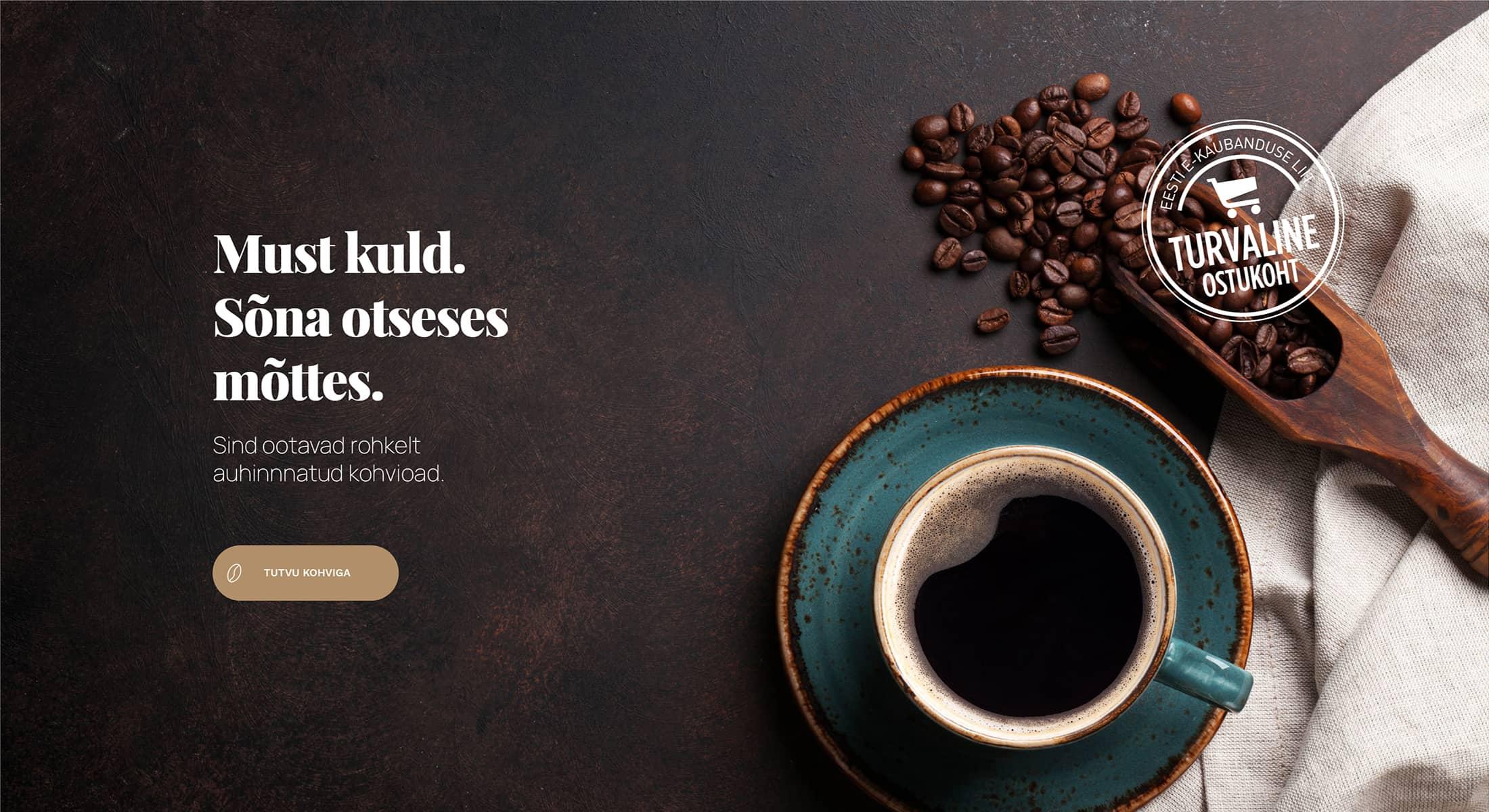 Espresso.ee kvaliteetne kohvi