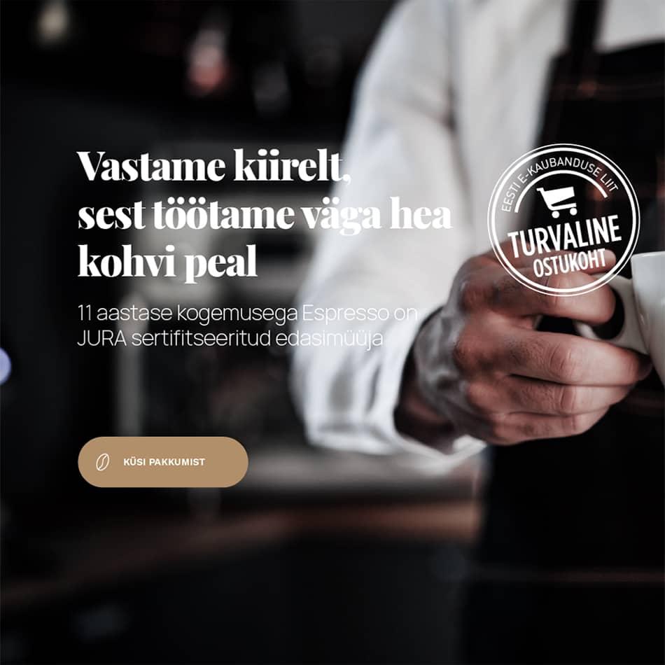 Espresso JURA edasimüüja