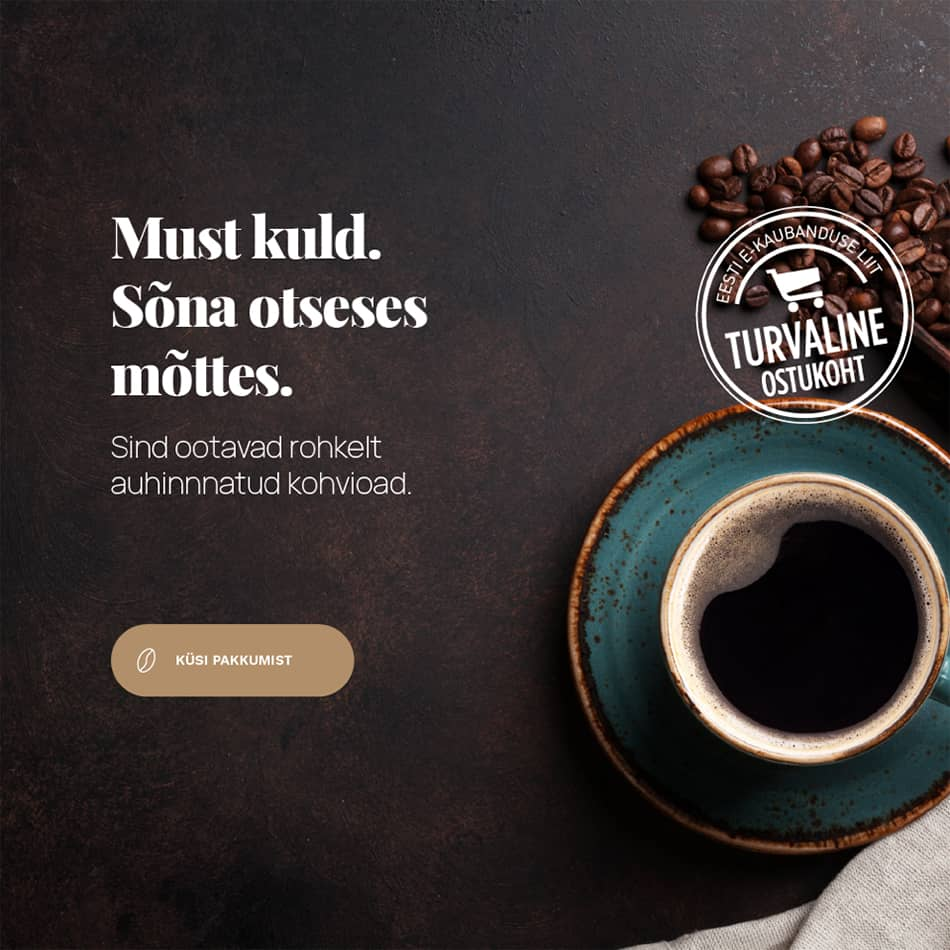 Espresso kohvioad